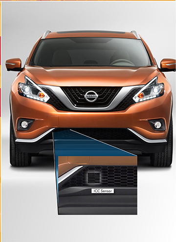 Nissan Murano 2017 Red >> Safety and Security Features