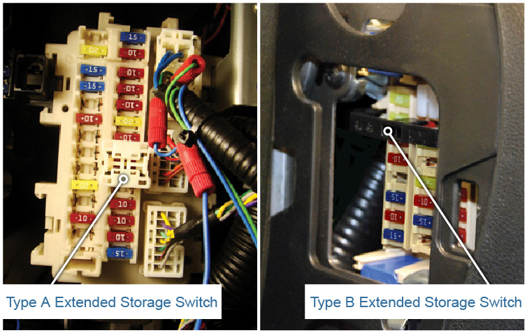 Extended Storage Switch and BCM Transit Mode