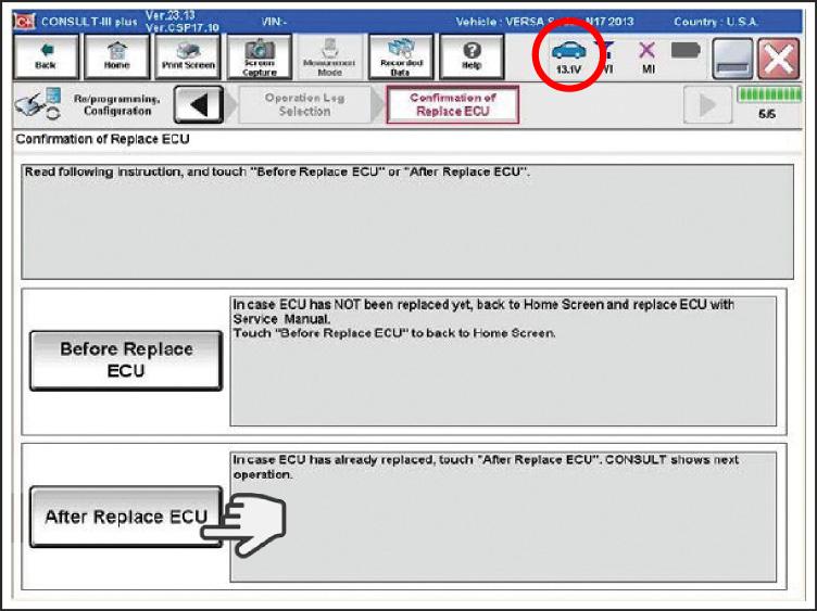 Programming Blank ECMs